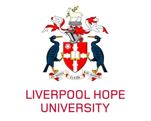 The logo for Liverpool Hope University