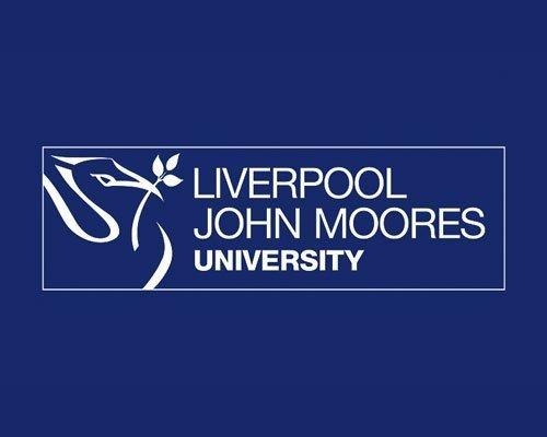The logo for Liverpool John Moore's University